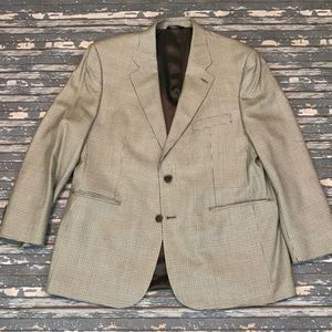 🔥 Brooks Brothers 44R houndstooth sport coat EUC
